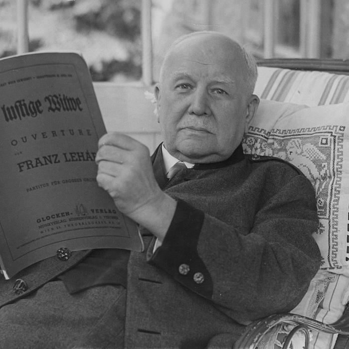 150 éve született A víg özvegy szerzője, Lehár Ferenc